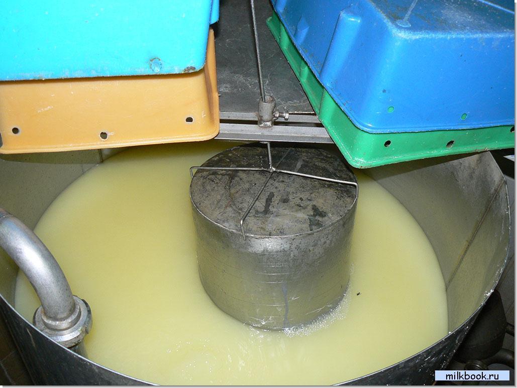 Очистка молока в домашних условиях